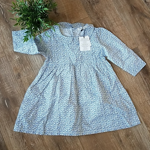 0e85c66f7 homemade Dresses | Vintage Girlsblue Peter Pan Collar Dress | Poshmark
